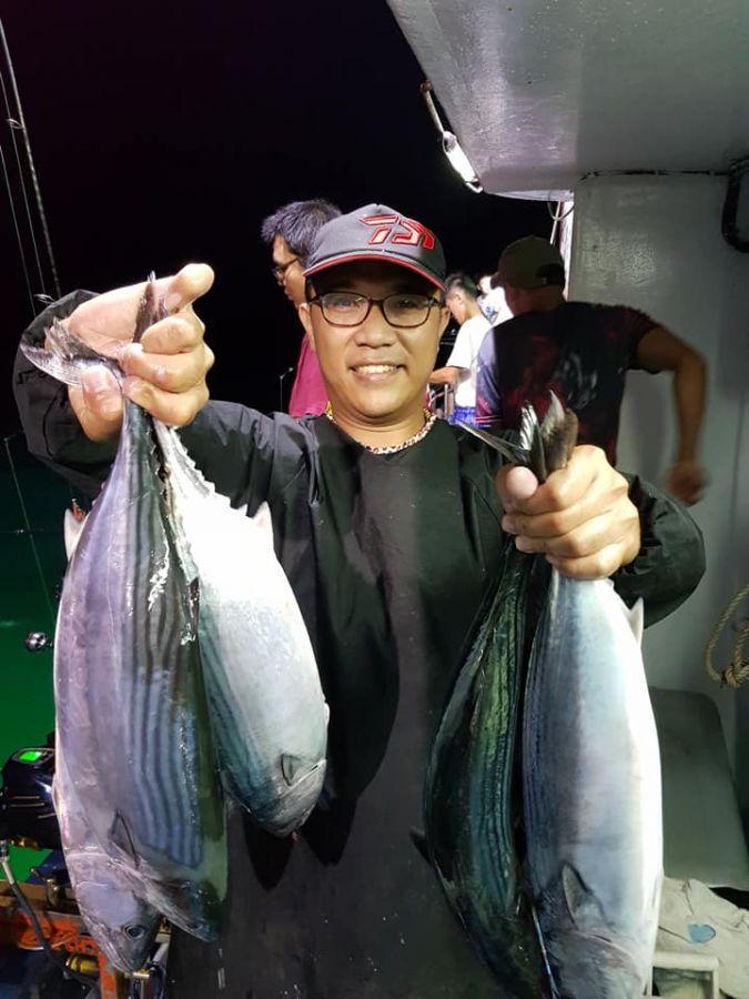 綠島夜釣-大肥鰹魚