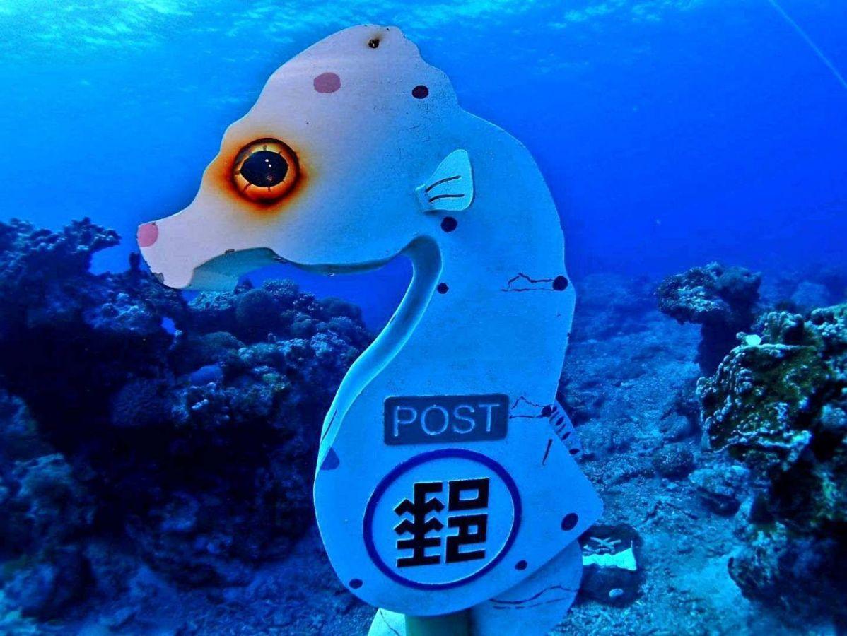 綠島潛水郵政信箱
